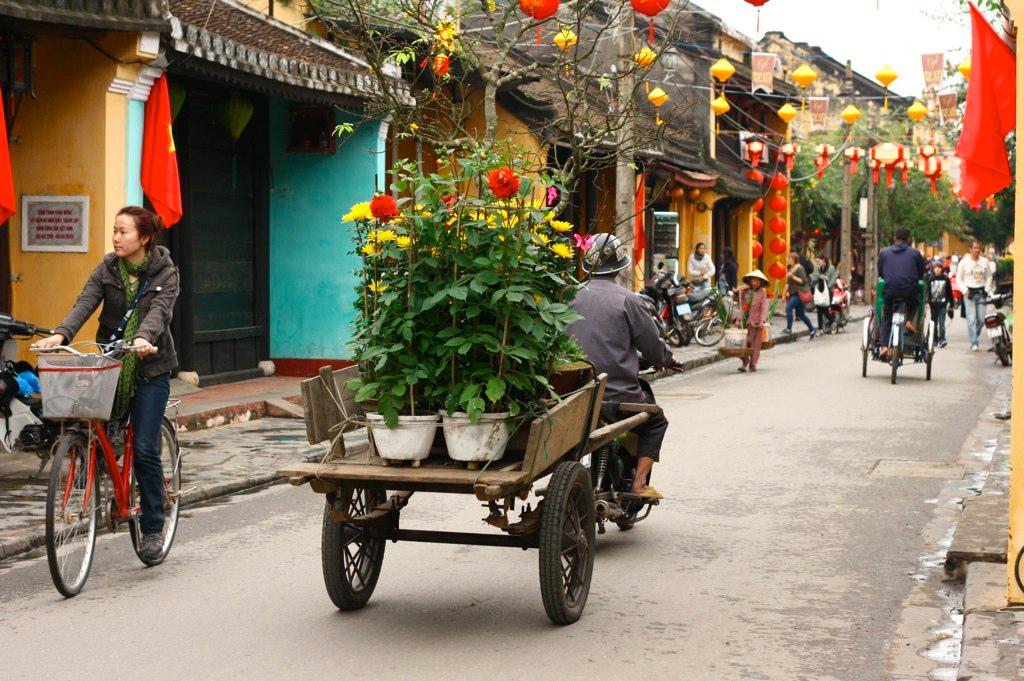 vietnam hoian tet ベトナム ホイアン お正月の準備 テト