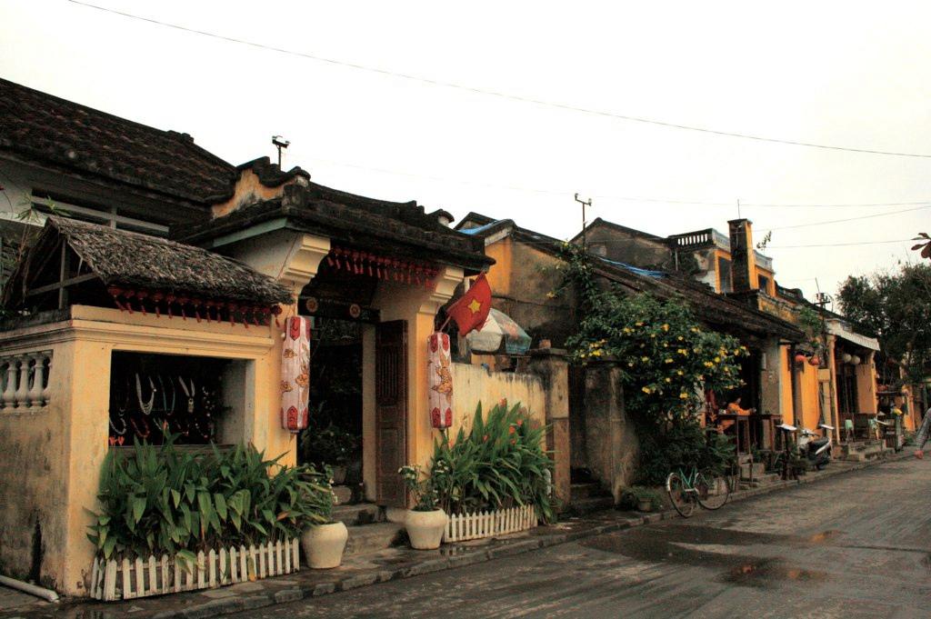 hoian vietnam ベトナム ホイアンの町並み