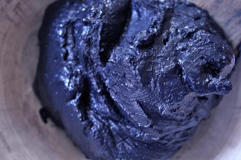琉球藍 到着 沈殿藍 indigo extract from Okinawa