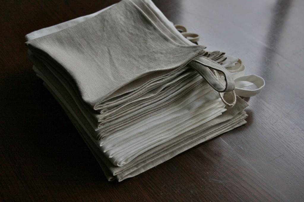 リネンのキッチンタオル linen kitchen tea towel