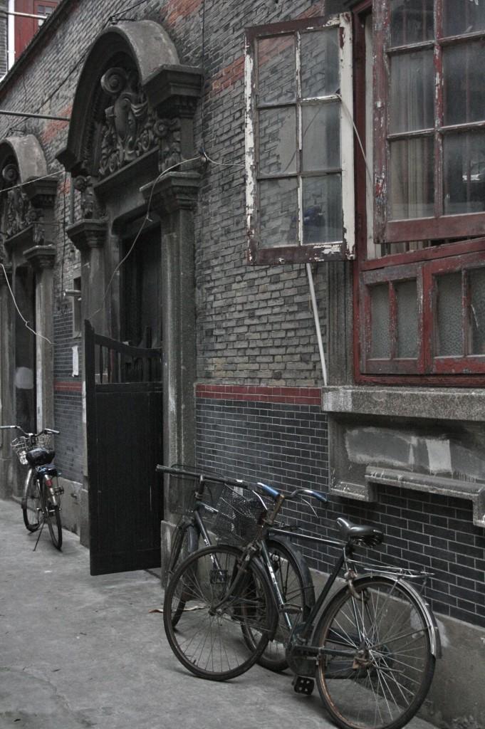 shanghai sikumen 上海 レンガ作り