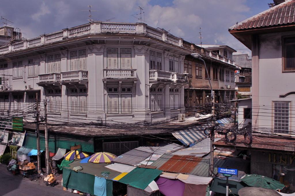 バンコクのチャイナタウン ヤワラー china town in bangkok
