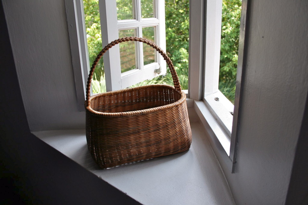 ペナンで見つけた籠 latten basket I found in Penang