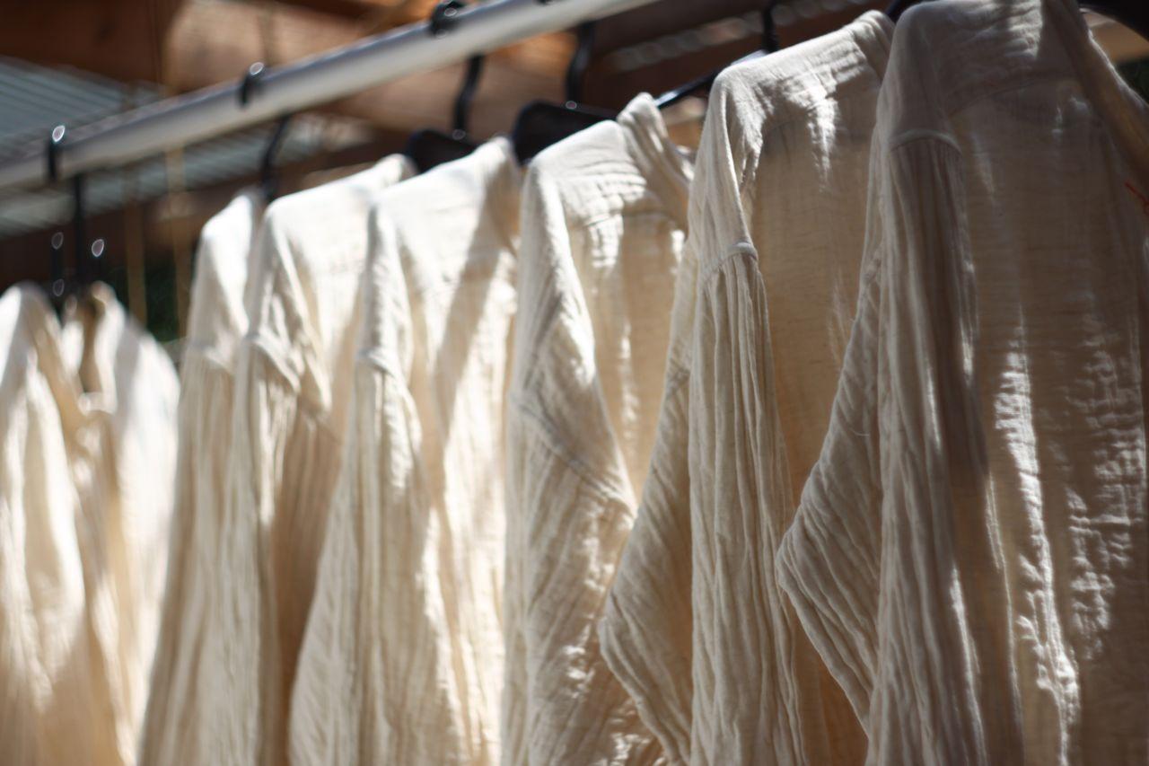 コットンリネン ブラウス cotton linen shirt