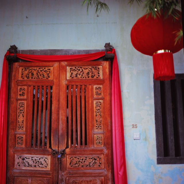 Chinese door, Penang