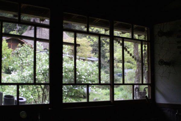 新道さんの工房 北側の眺め