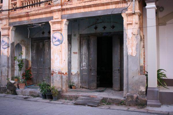 ドアも気になります Savannakhet, Laos