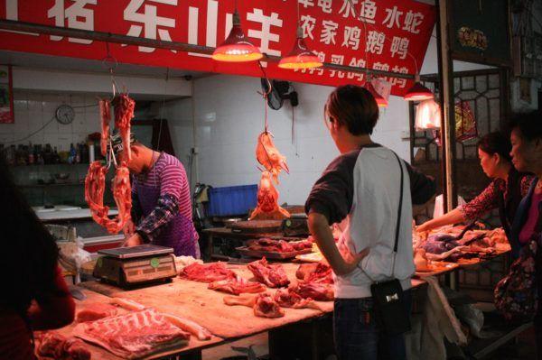 広州 山羊肉店