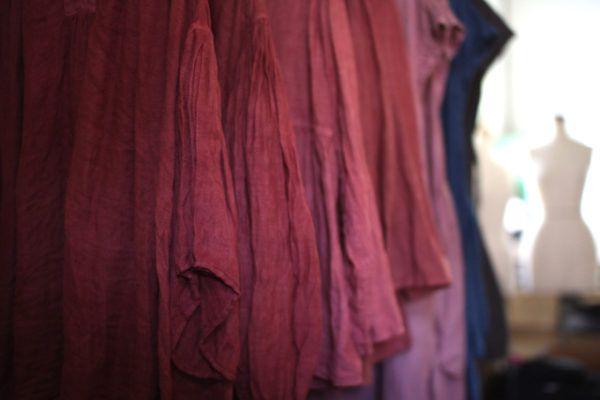 ラックダイのピンク 茜と蘇芳の赤