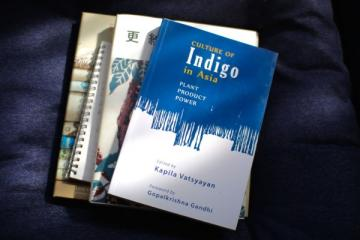 Indigo in Asia edited by Kapila Vatsyanan