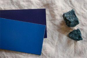 草木染め タデ藍の沈殿藍/natural Indigo block