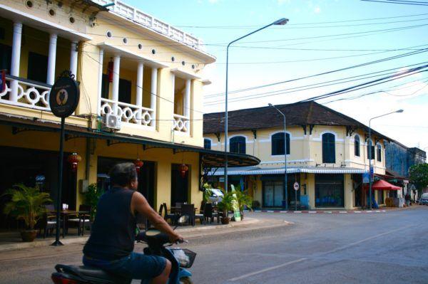 街並み Thakhek, Laos