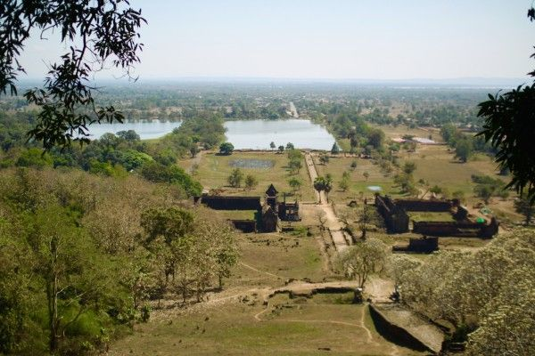 丘の上より Wat Phou, Champasak, Laos