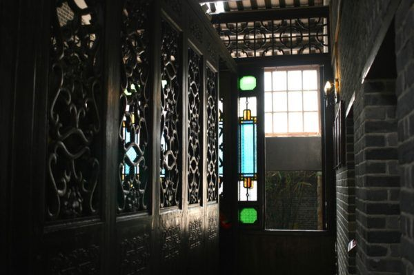 広州 茘湾民俗博物館にて