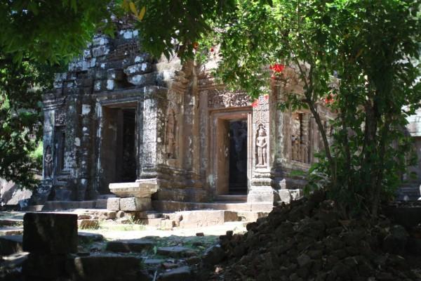 丘の上  Wat Phou, Champasak, Laos